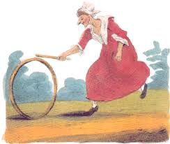 Shrew with hoop
