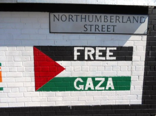 The Palestinian Flag is as familiar as the Irish Tricolour now