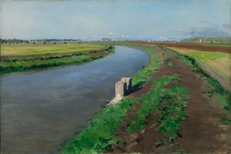 Gustave Caillebotte: Banks of a Canal near Naples c.1872, National Gallery, Ireland